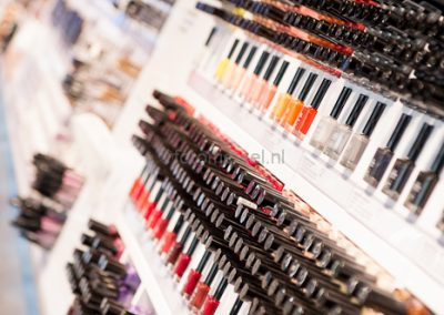 visagist voor make-up promotie