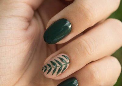 nagels lakken met nailart